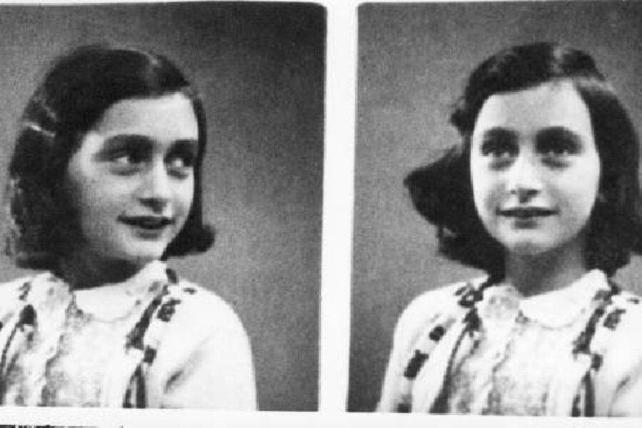 A Youtube Channel Devoted To Anne Frank Csmonitorcom