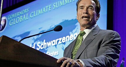 Schwarzenegger leads governors' summit on global warming