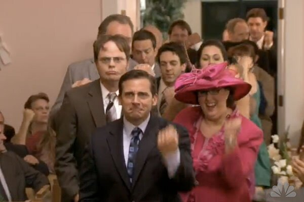 The Office Went All YouTube Spoofing JK Wedding Entrance Dance In Thursdays Episode