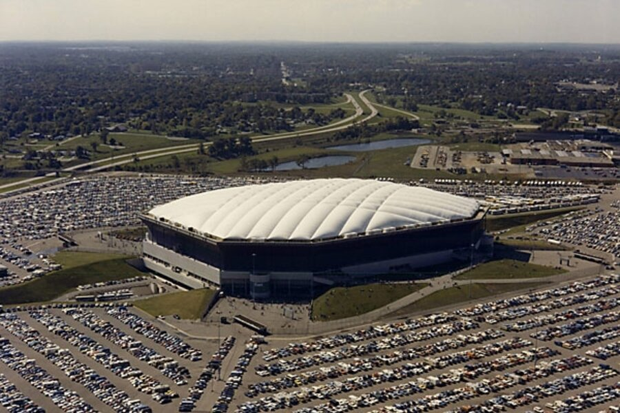 New tale of Detroit's woe: Pontiac Silverdome sold for ...