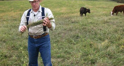 Joel Salatin advocates a better way to raise food
