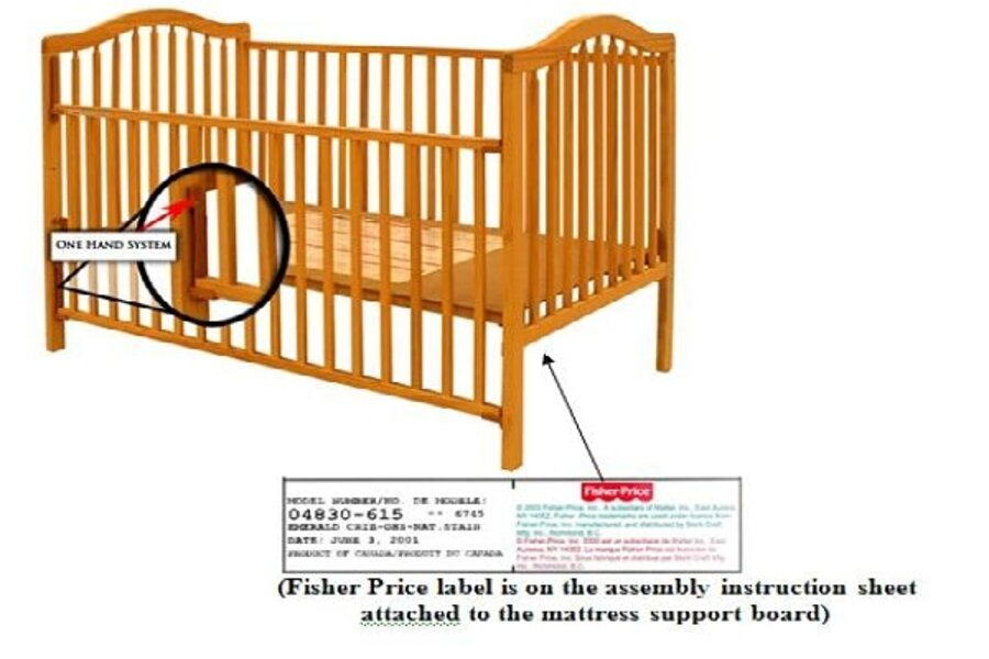 simmons easy side crib. what you need to know about the stork craft crib recall - csmonitor.com simmons easy side