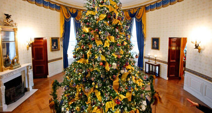 How many Christmas trees does it take to light up Washington?
