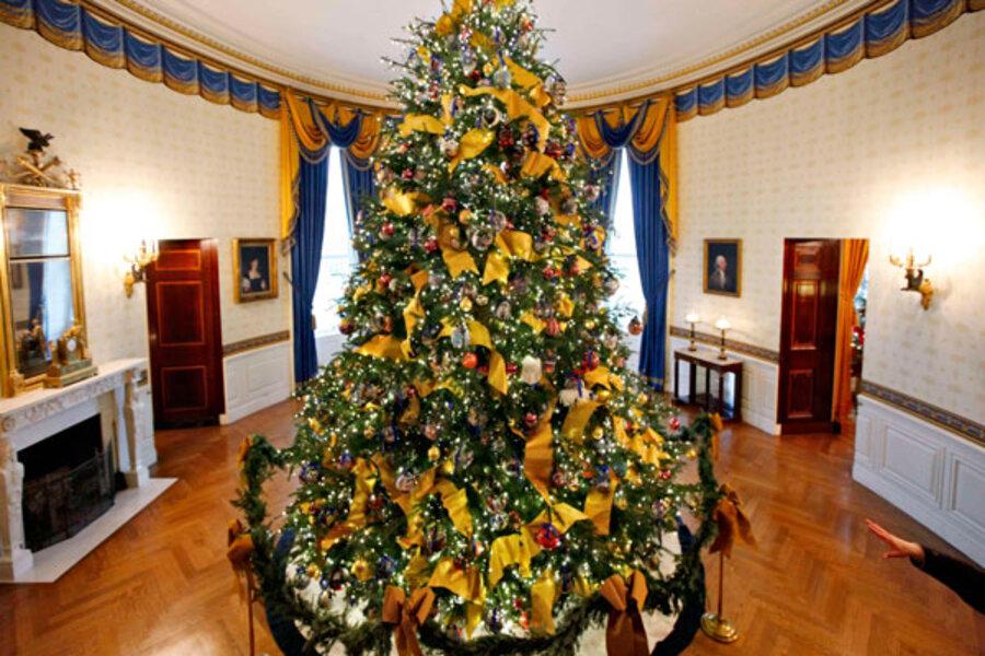 how many christmas trees does it take to light up washington