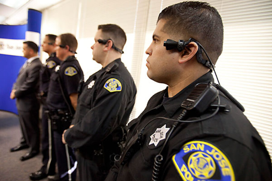 San Jose police get ear-mounted video cameras in battle for