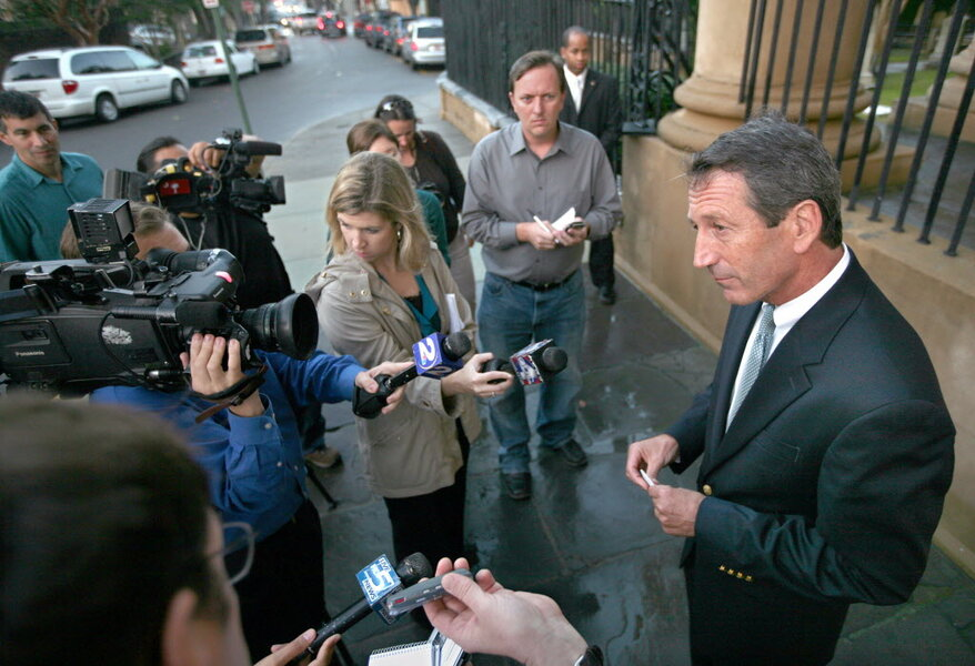 S C  Gov  Mark Sanford is censured, but won't be impeached