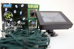 Way Solar – Lights To Powered Green A Christmas Festive Go 9WD2IEHY