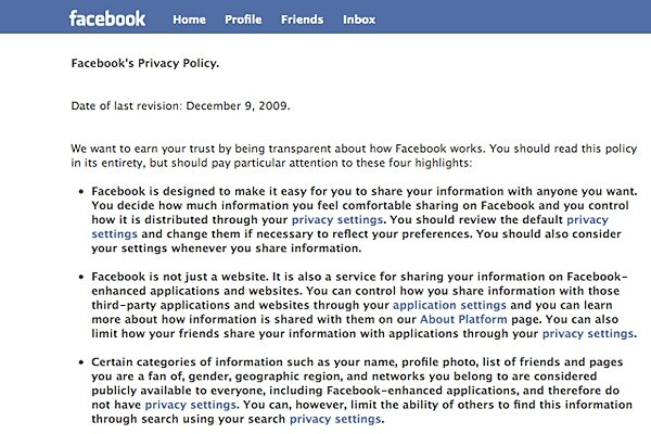 Facebook S New Privacy Policy Gives Users More Control But