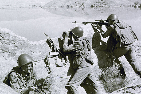 Afghanistan War Russian Vets