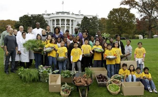 Michelle Obama 39 S White House Garden Is A Growing Success