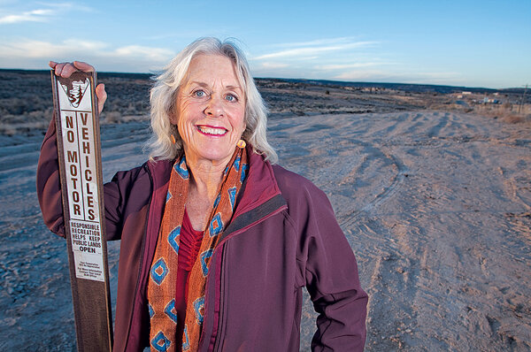 Veronica Egan and the 'Great Old Broads' keep vigil over endangered wild lands.