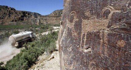 Prehistoric Indian drawings to be protected in Utah canyon