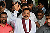 Sri Lanka's president wins by big margin. Fonseka surrounded.