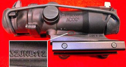 Trijicon sights: How the 'Jesus gun' misfired
