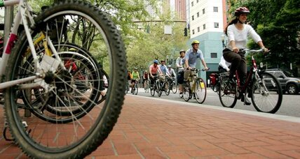 Portland promotes urban cycling, but costs will be high