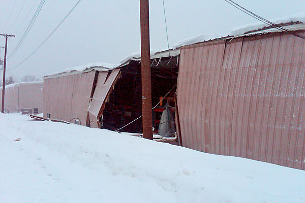 As Snow Piles Up Concern Grows About Roof Collapses