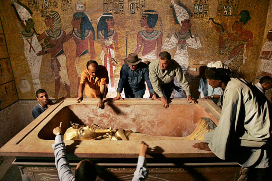 King Tut: The science behind the discovery - CSMonitor com