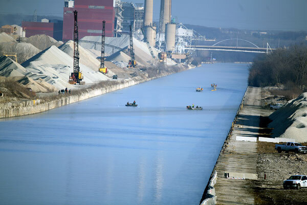 Pity, Asian carp close the canal matchless