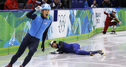 Apolo Ohno disqualified: Let the USA-Canada rumble begin!
