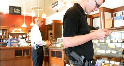 Guns at Starbucks? Pushing the right to bear arms in public