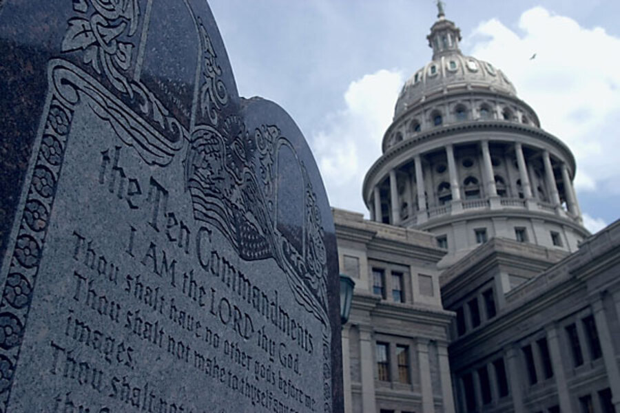 Supreme Court Lets Stand Order To Remove Ten Commandments Monument