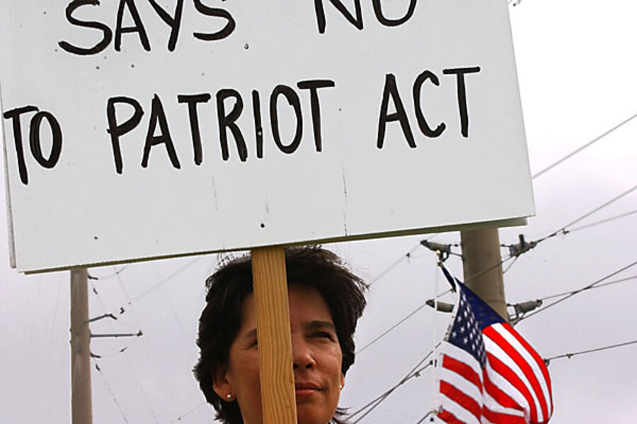 an introduction to the issue of the usa patriot act Argumentative essay on patriot act essays  attack on the united states, the usa patriot act  introduction: the us patriot act is legislation passed by.
