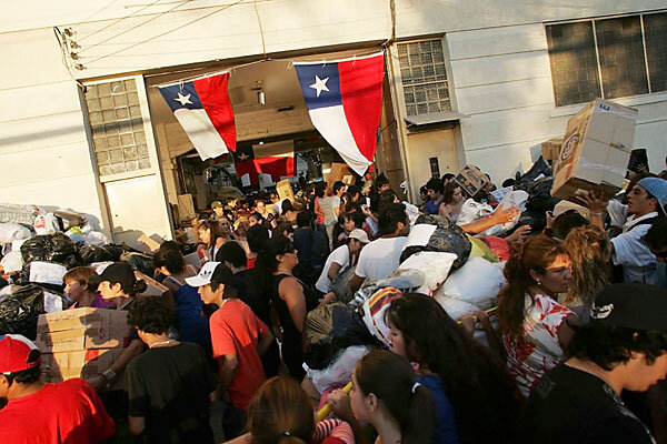 Chilean earthquake of 2010 the human impact relief and recovery