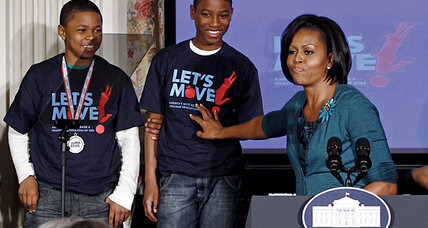 'Let's Move': Michelle Obama takes on childhood obesity