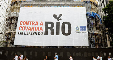 Rio protests: Sharing Brazil's oil revenues will hurt 2016 Olympics