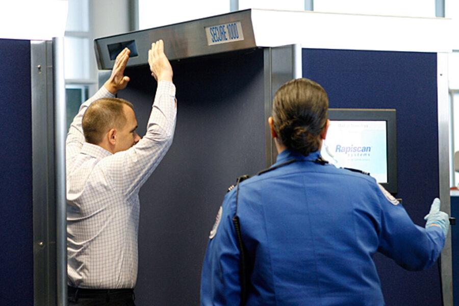 TSA removing virtual strip search body scanners