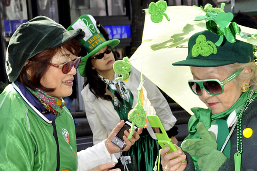 319ca25e St. Patrick's Day: Why do we wear green? - CSMonitor.com