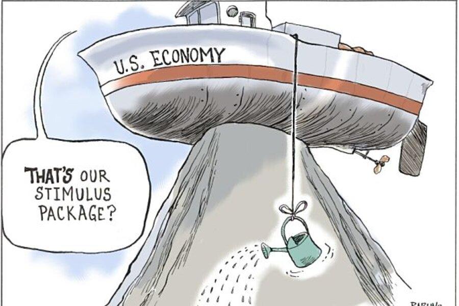 Obama's stimulus did NOT raise government spending - CSMonitor.com