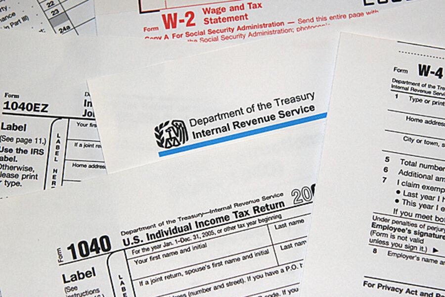 internal revenue service and tax return
