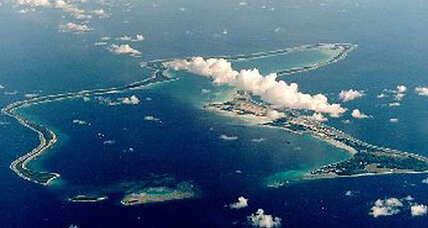 Britain names Chagos Islands world's largest marine preserve