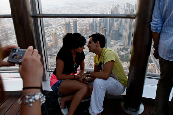 In Dubai, public kissing can land you in jail