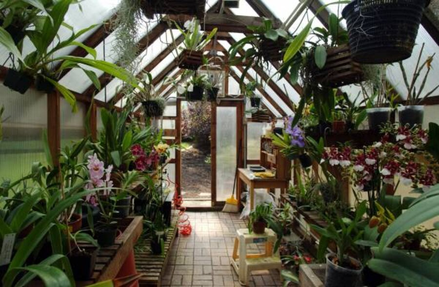 Greenhouse Attached To House Passive Solar