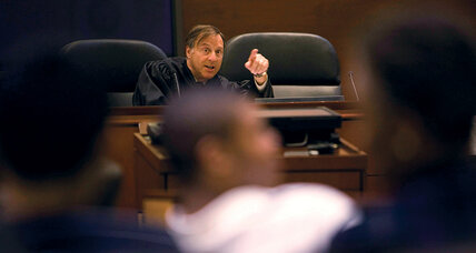 Teen juries put a new spin on juvenile justice