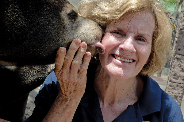 Mary Hutton frees Asia's endangered bears from lives of torment