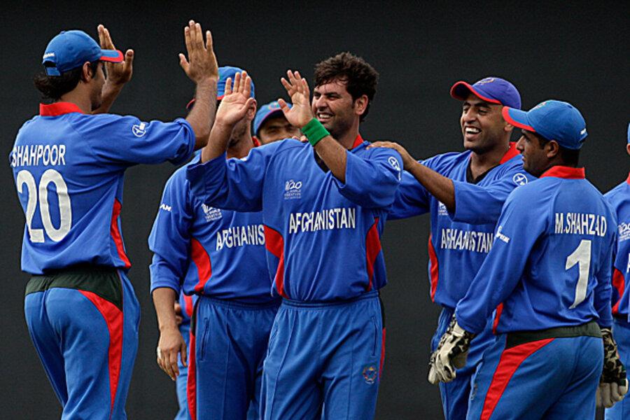 Afghanistan Cricket Team Background 8