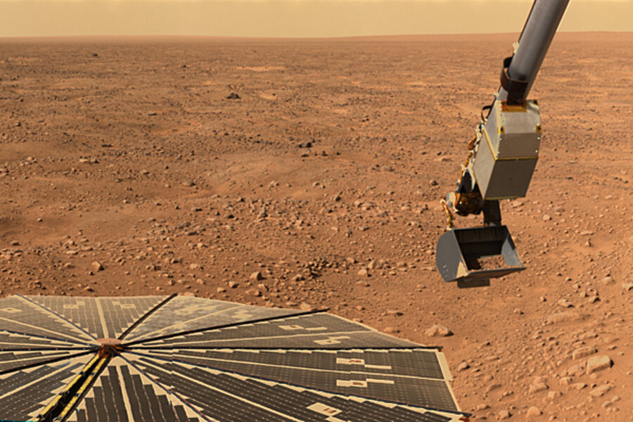 British tabloid finds life on Mars. NASA disagrees ...