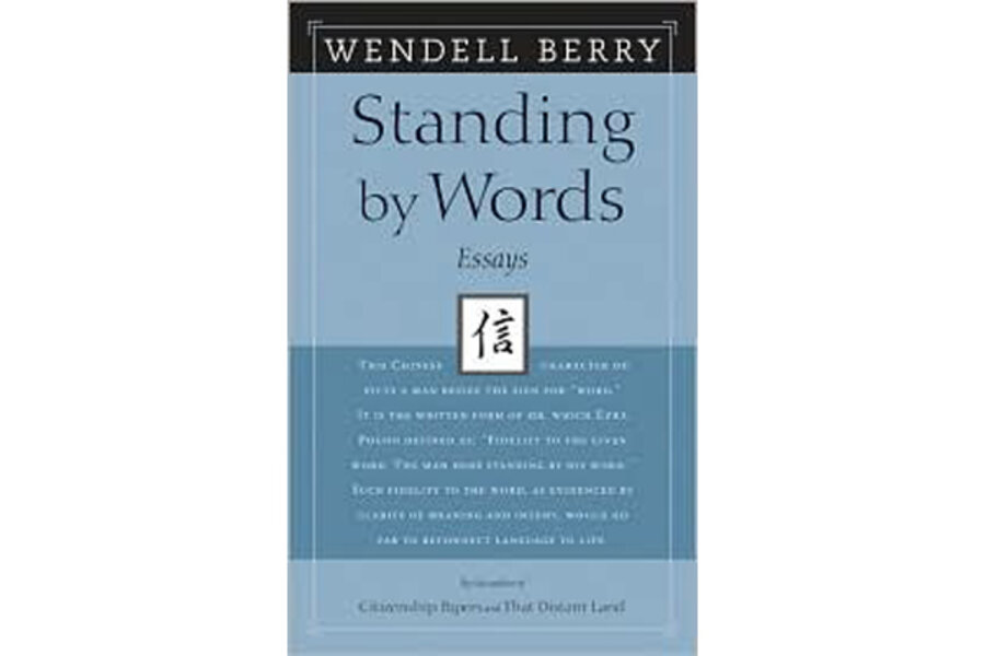 wendell berry assignment