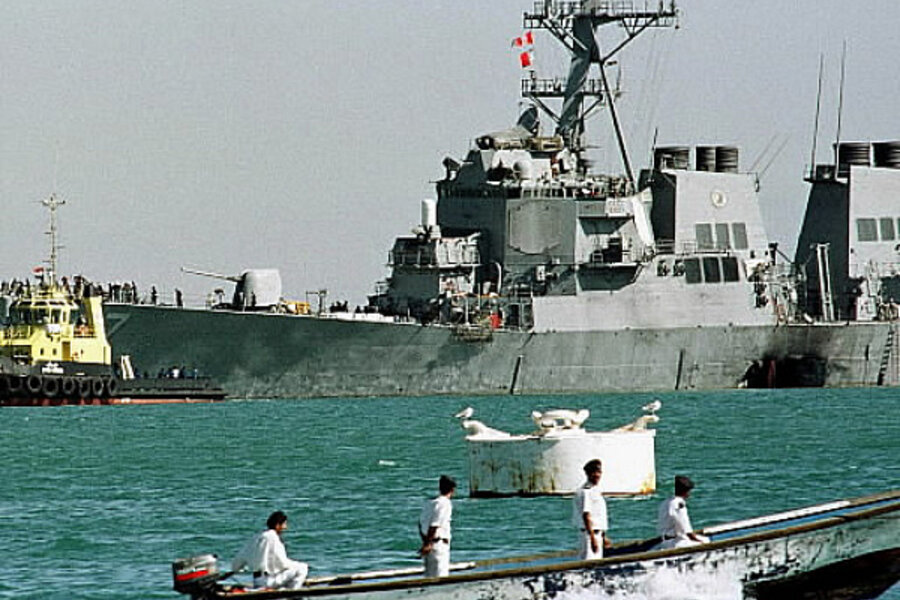 a description on how the uss cole was attacked On this date in 2000 terrorists launched a daring attack on the uss cole the ship, a destroyer, was one of the most highly advanced in the us navy the ship was part of an operation that was enforcing sanctions against iraq it had sailed to aden in yemen in order to refuel before it joined the operation.