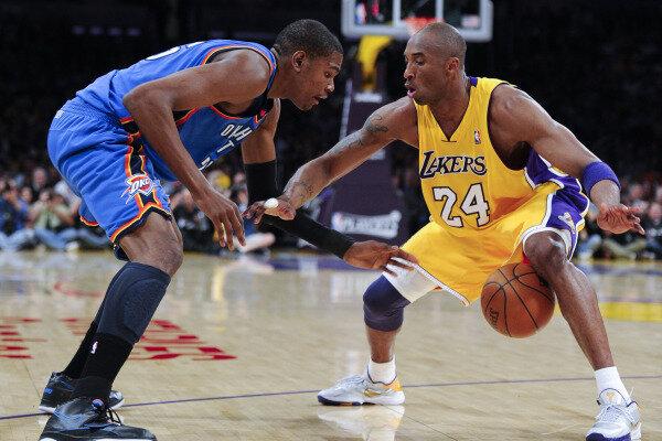 Kobe Bryant beats LeBron James in NBA jersey sales - CSMonitor.com