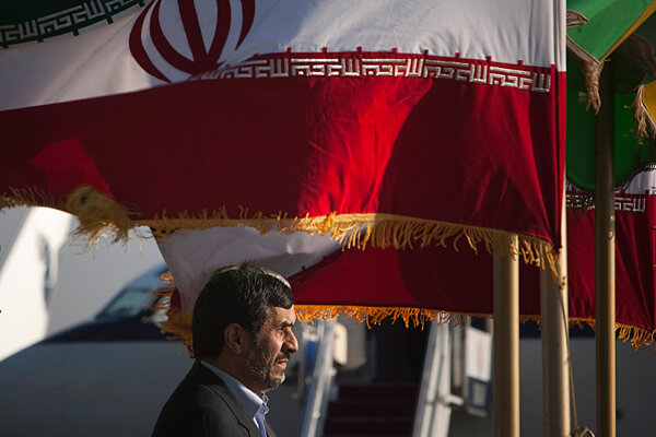 Iran's Mahmoud Ahmadinejad, in his own contradictory words