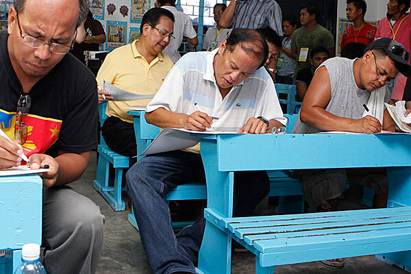 electoral process in the philippines Prior to the 2010 elections, voters have to write the names of the candidates next  to the positions in which they are running.