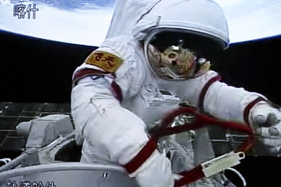 astronauts in space china - photo #28