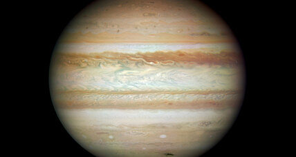 Astronomer notices one less stripe on the planet Jupiter