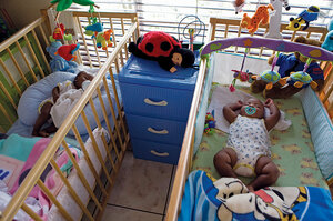South Africa AIDS orphans overwhelm social work services