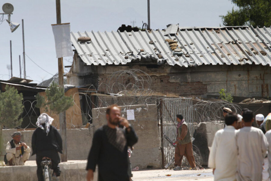Taliban Attack Bagram Air Base In Afghanistan Csmonitor Com