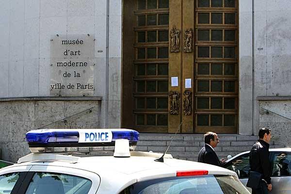 Paris Art Theft Paris Museum of Modern Art